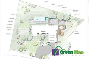 landscaping design of the lynch project - Landscaping