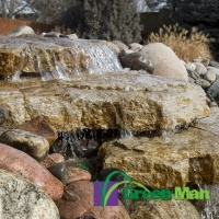 landscaping water feature - Home